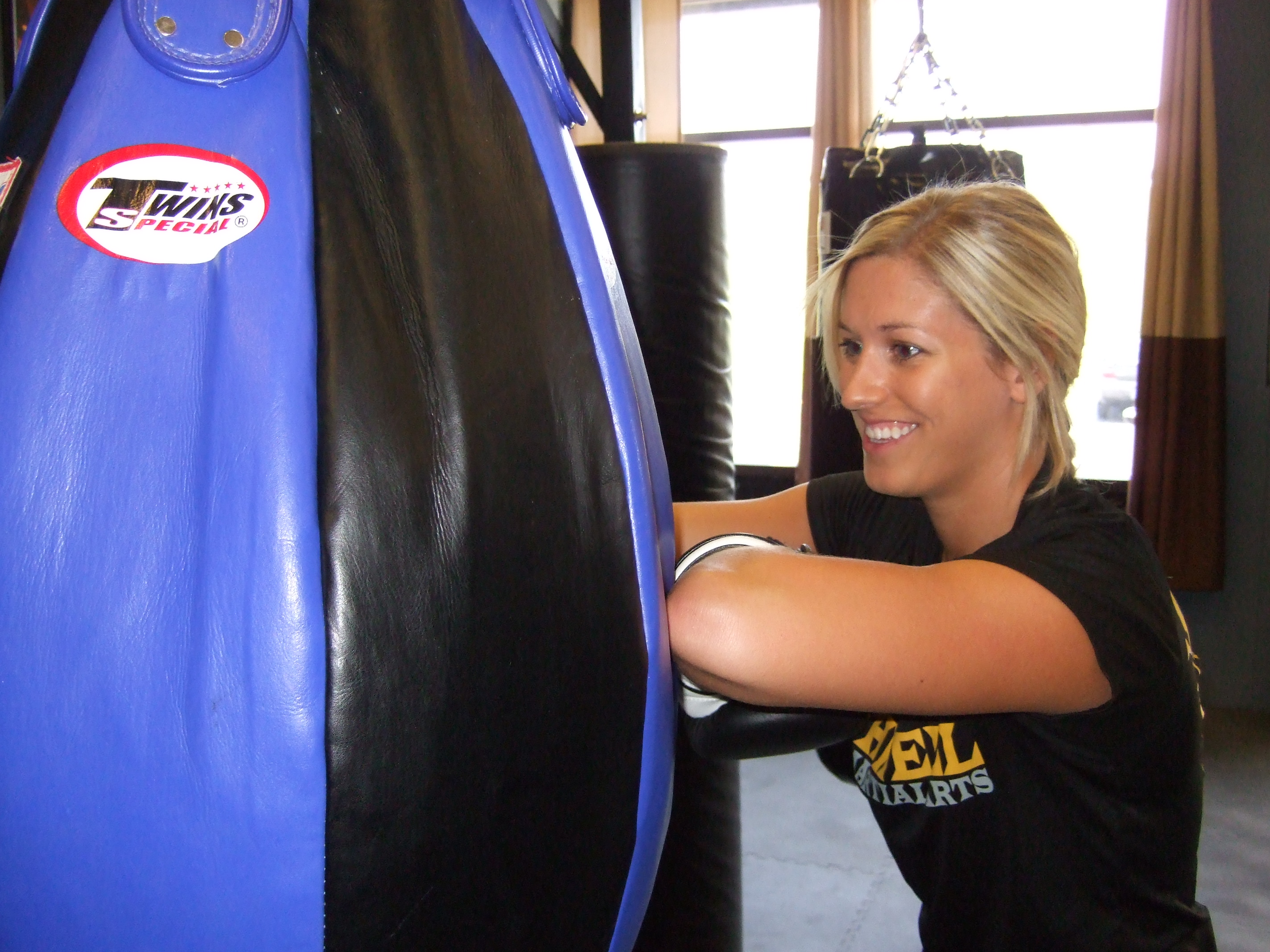 Kickboxing on Bags