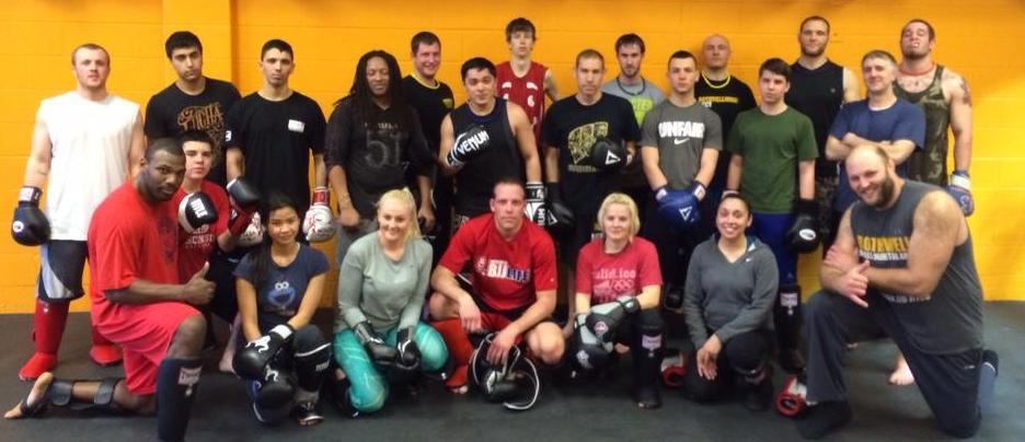 Kickboxing, Beginner Class 04.2014