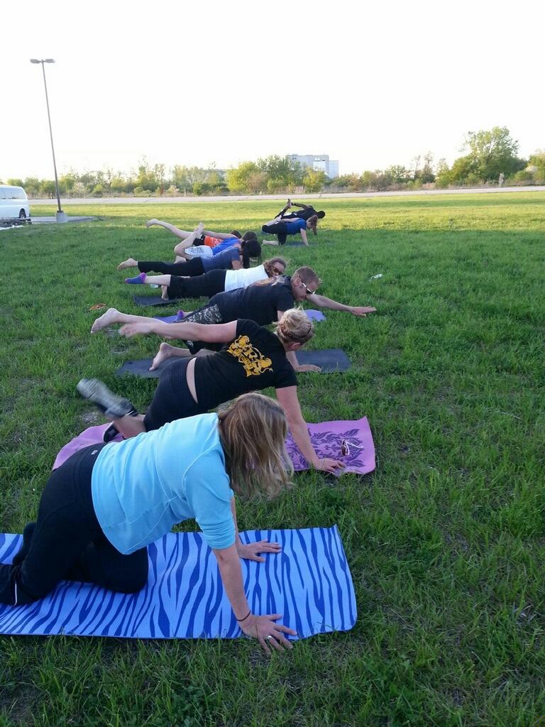 Yoga, May 2014