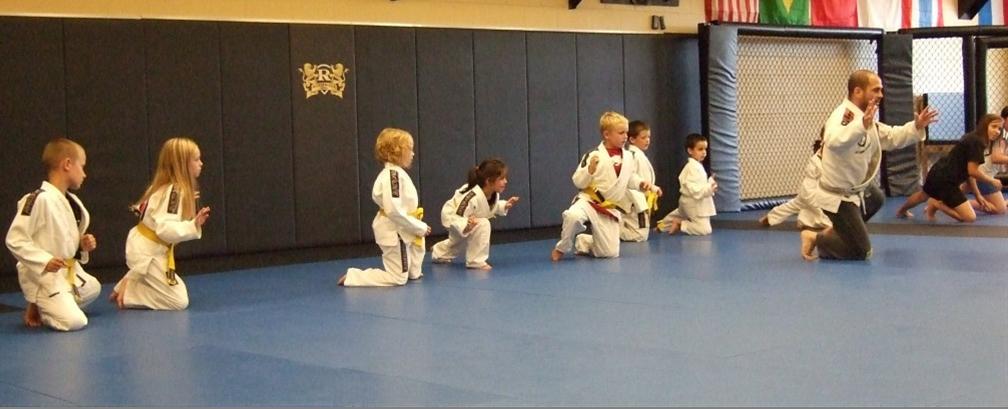 Wrestling, Kids Drill