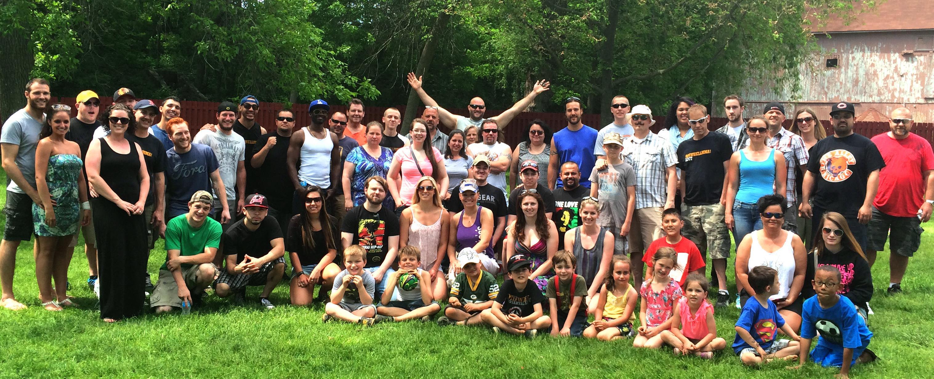 Picnic, Rothwell MMA Family