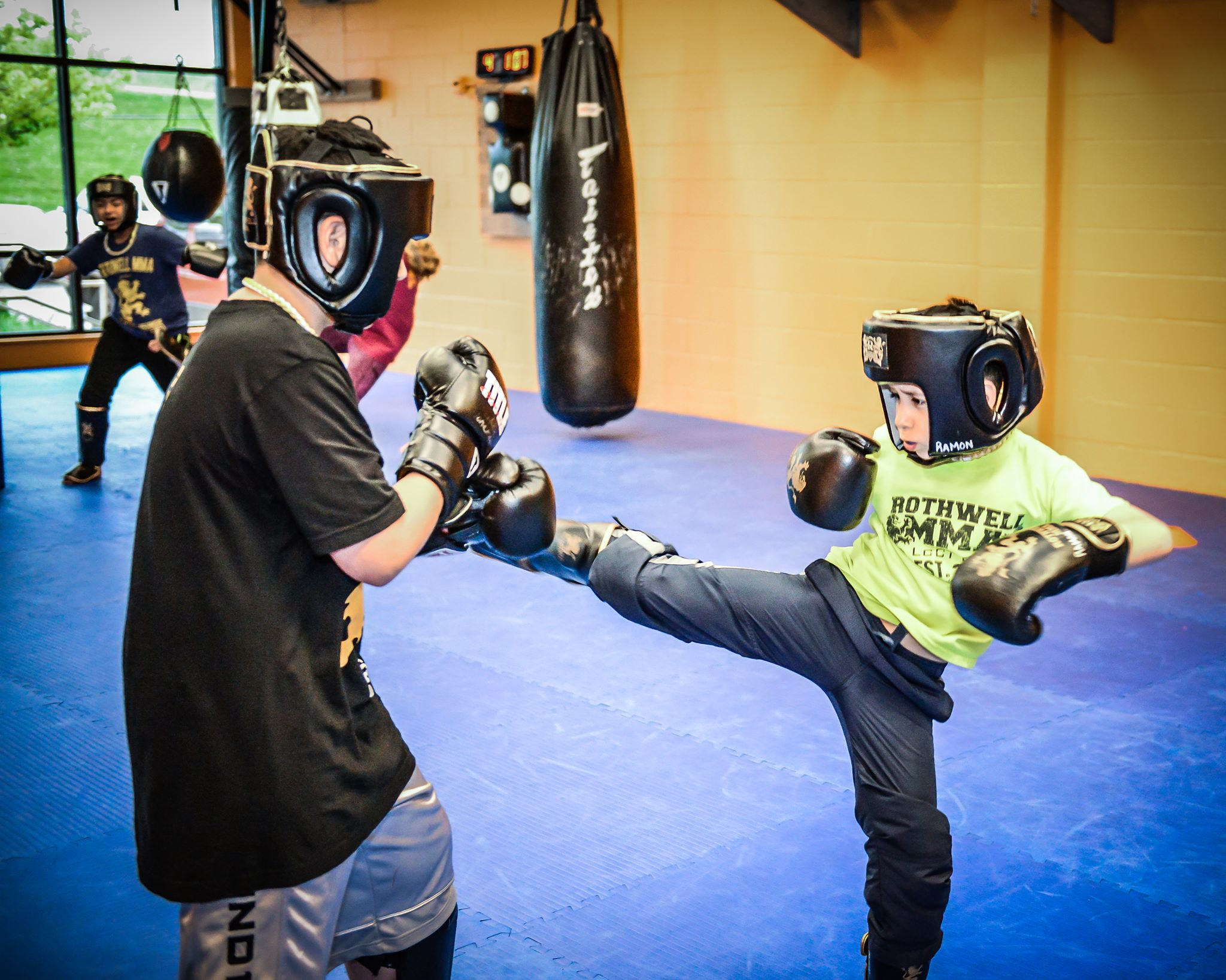 Free Youth Kickboxing Trial Class