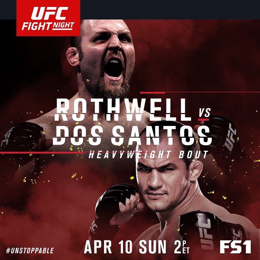 UFC Breakdown: Rothwell vs. Dos Santos