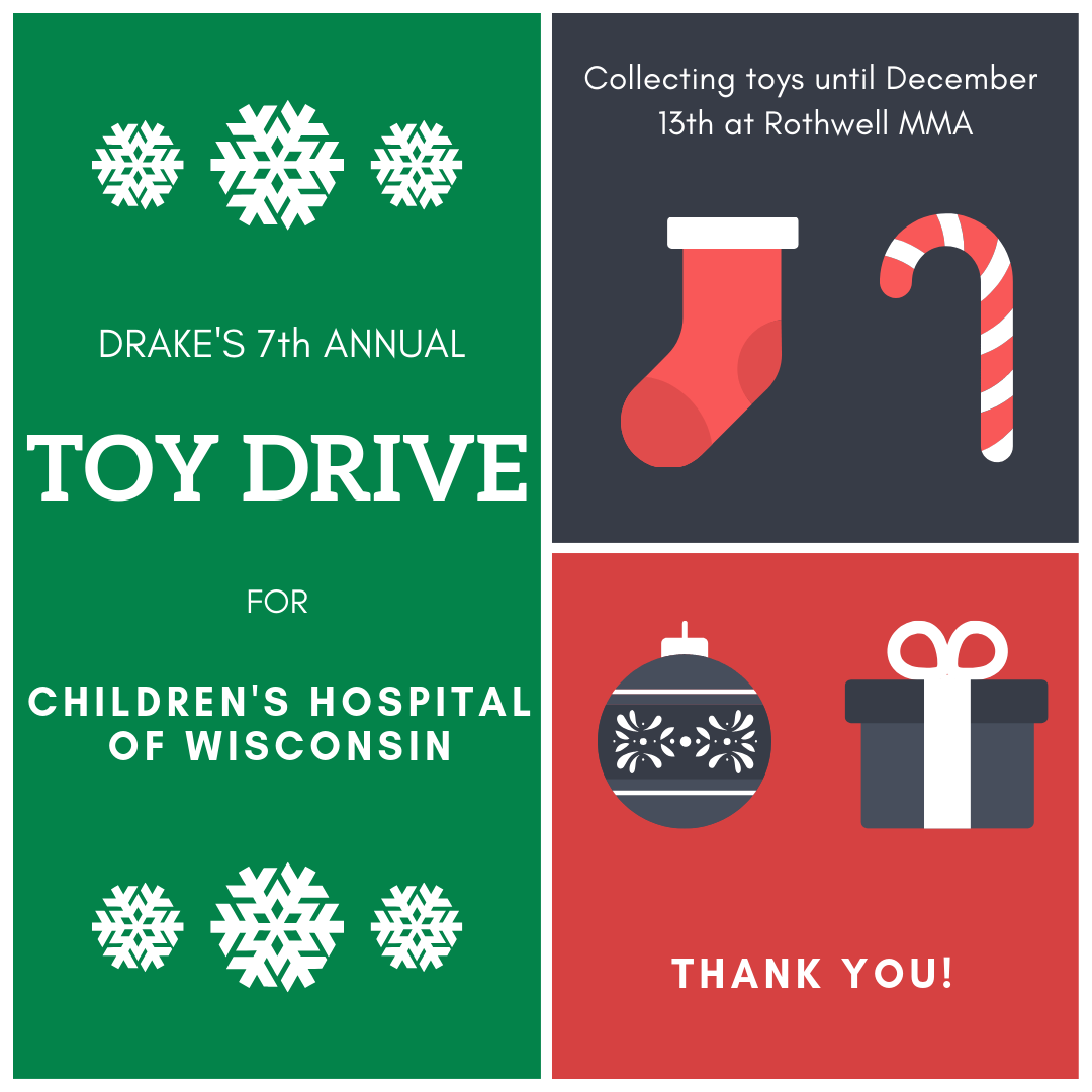 Drake's 7th Annual Toy Drive for Children's Hospital of Wisconsin